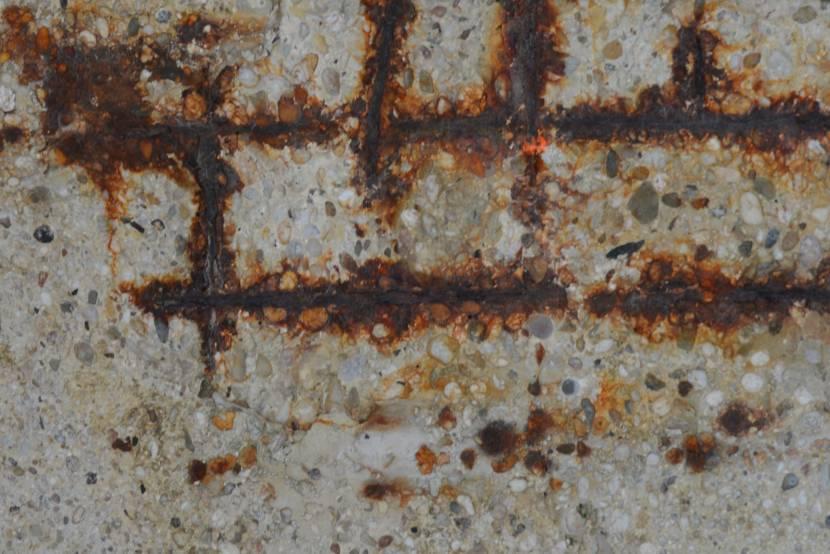 Коррозия в цементе