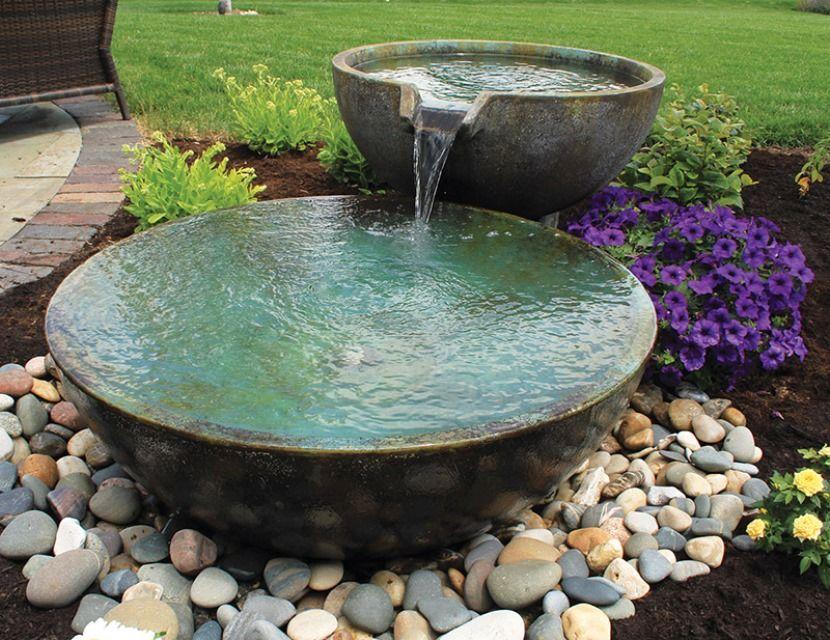 садовые фонтаны своими руками фото приготовить