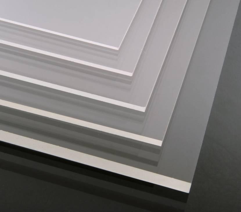 Прозрачный акрил разной толщины