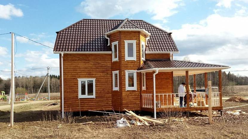 сборные дома под ключ цены