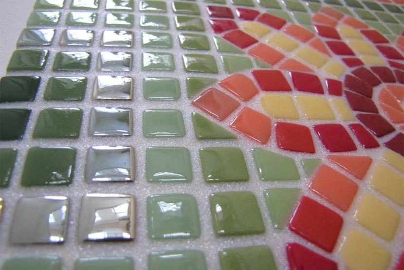 Эпоксидная затирка для стеклянной мозаики