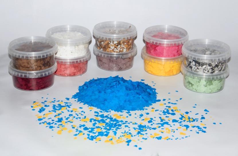 Минеральная пыль для красок – пигментирующее вещество