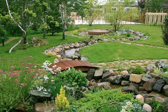 ландшафный дизайн участка план