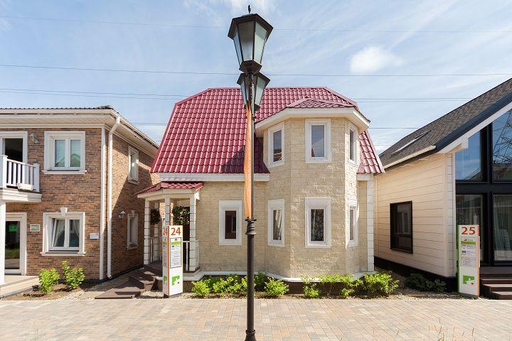 Дом из бруса «Сказка» на выставке «Малоэтажная страна»