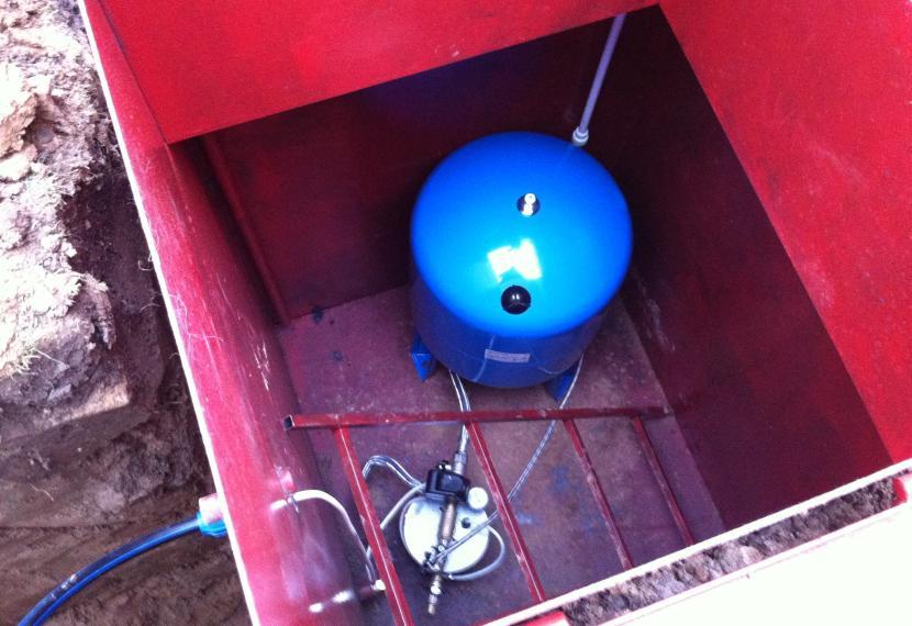 Металлический кессон для подземной установки