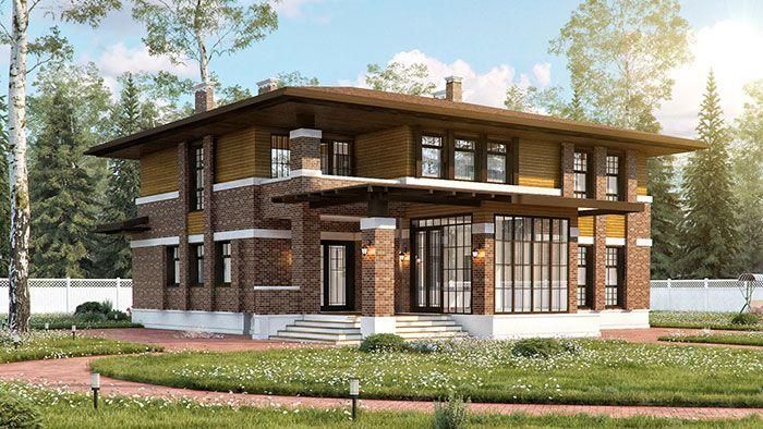 Проекты индивидуальных домов и коттеджей