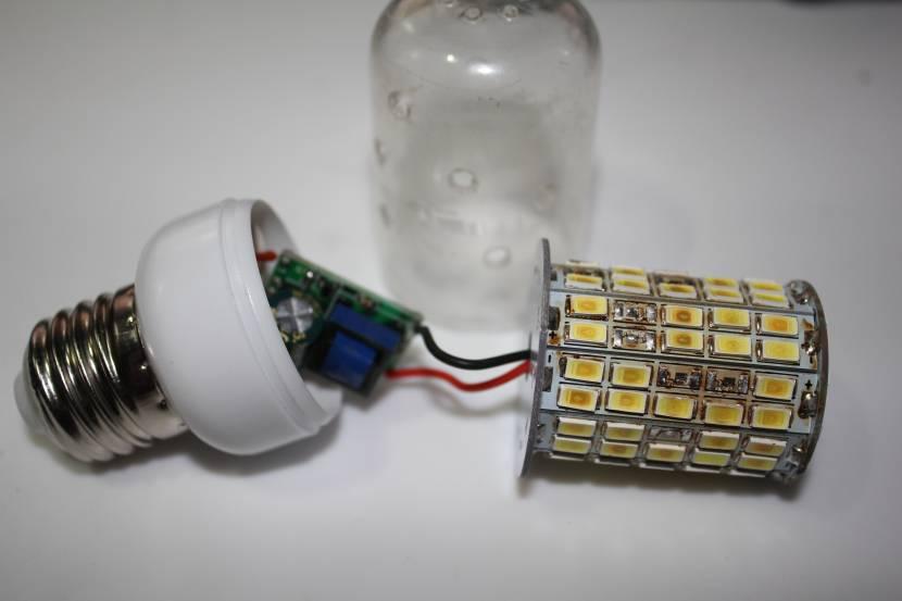 Ещё один вариант светодиодной лампы