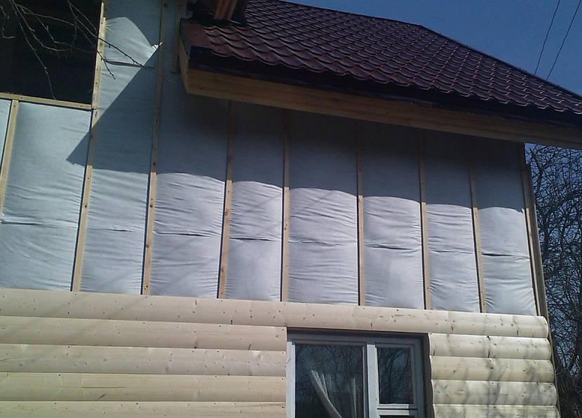 фасадные панели под брус