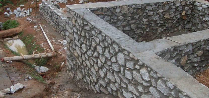 Натуральная поверхность дикого камня