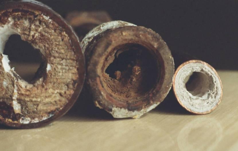 Засоры в стальных трубах