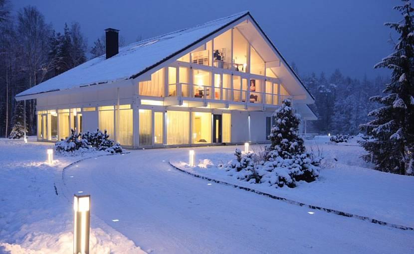 Покупка дома зимой