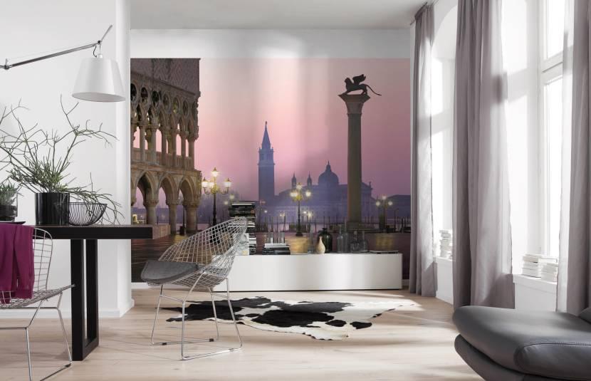 Фотообои «Венеция» в современном интерьере