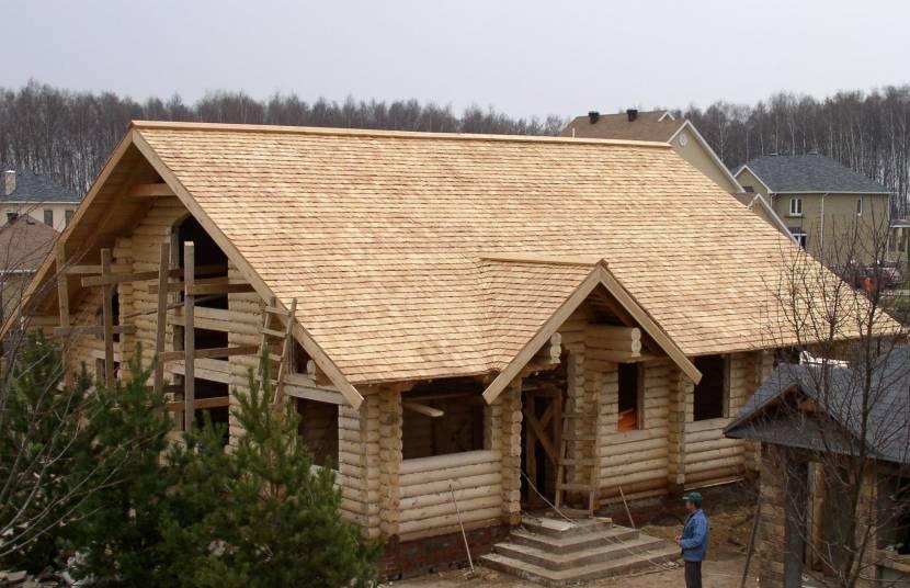 Строительство дома с тесовой крышей
