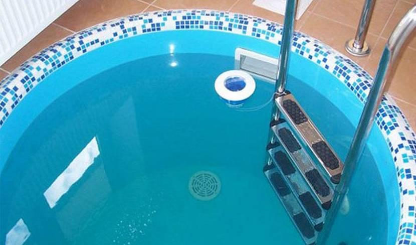 Акриловая чаша бассейна
