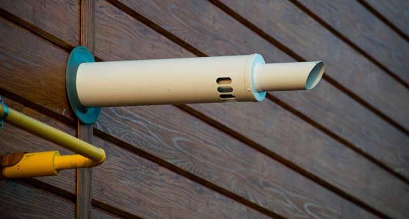 Двухконтурная труба от котла