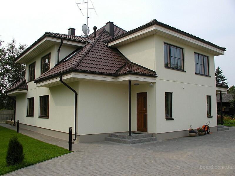 Архитектура современного ж/б дома