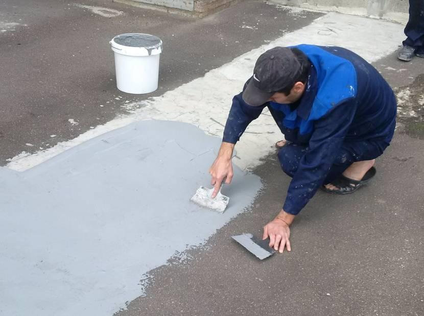 Полимерная мастика для бетона
