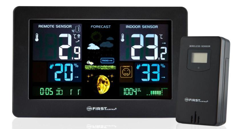 Многофункциональная метеостанция – со встроенным барометром и гигрометром