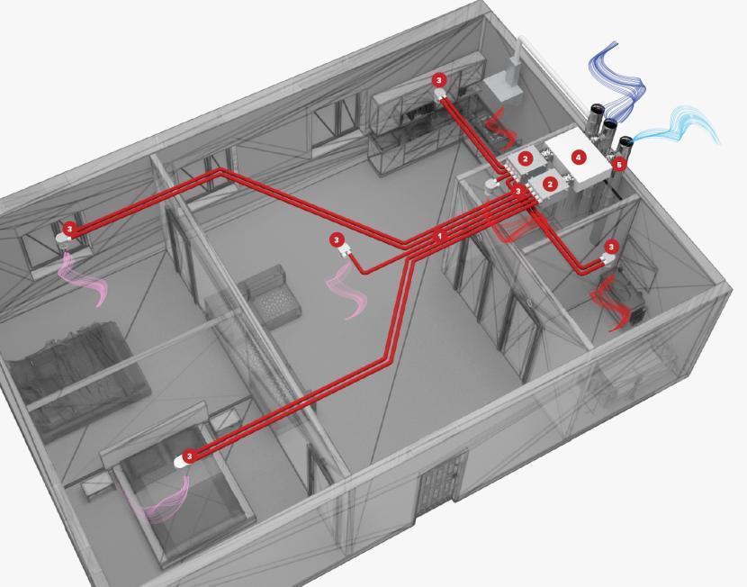 Пример проекта вентиляции помещения с рекуператором