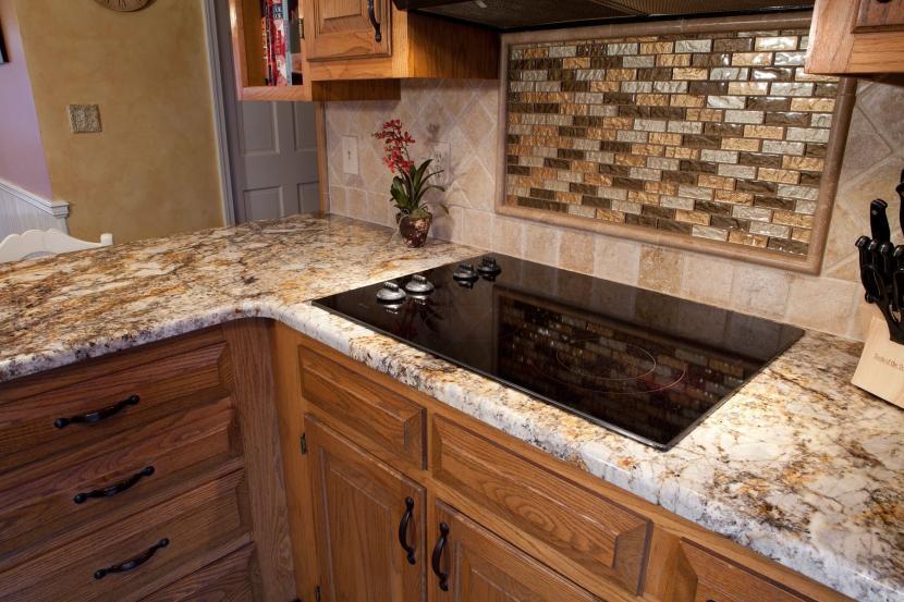 Мозаичные вставки в кухонном интерьере