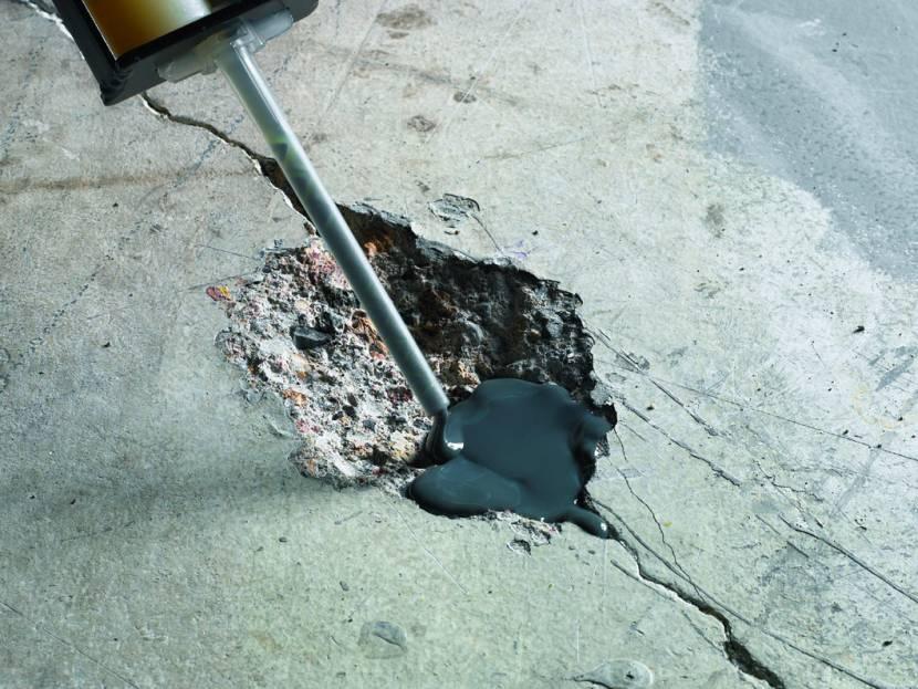 Устранение неровностей бетонного пола
