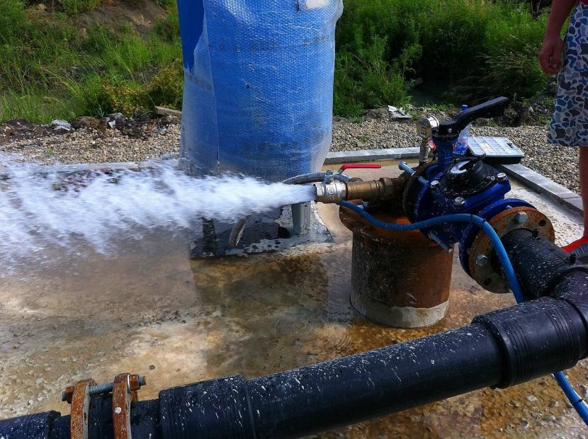 Пример промывки скважины профессионалами