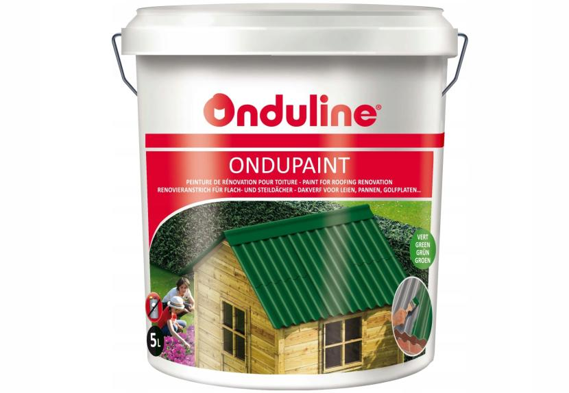 Специальная краска для ондулиновых крыш
