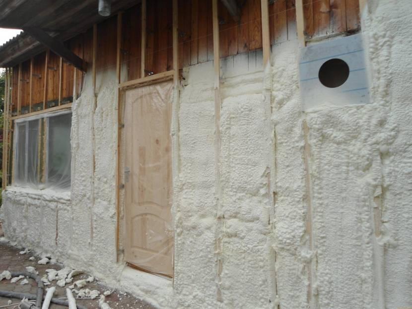 Фасад утеплённый пенополиуретаном