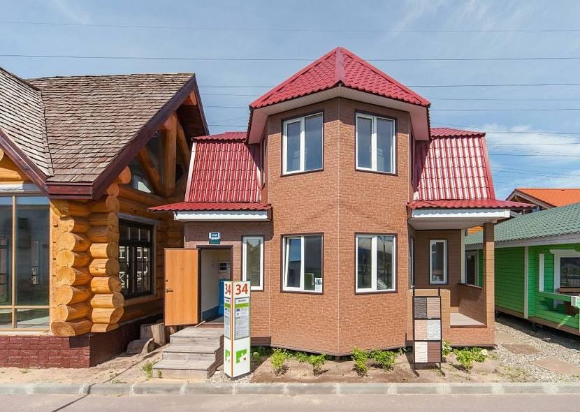 каркасный дом компании «СК Пересвет»