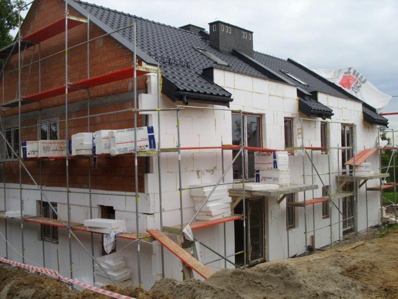 Утепление 2-этажного дома из керамических блоков