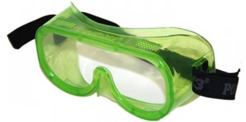 При работе с минватой используют очки закрытого типа