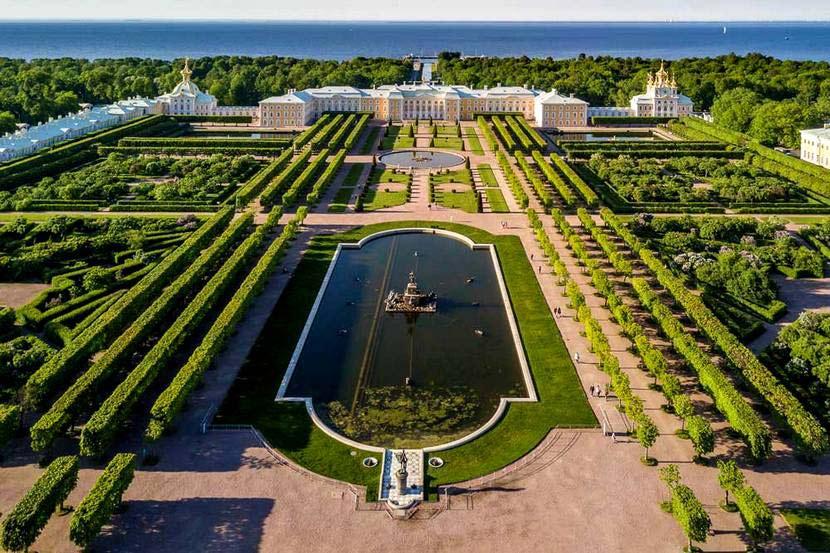 Сад в Петергофе