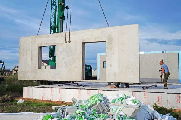 строительство ж/б дома