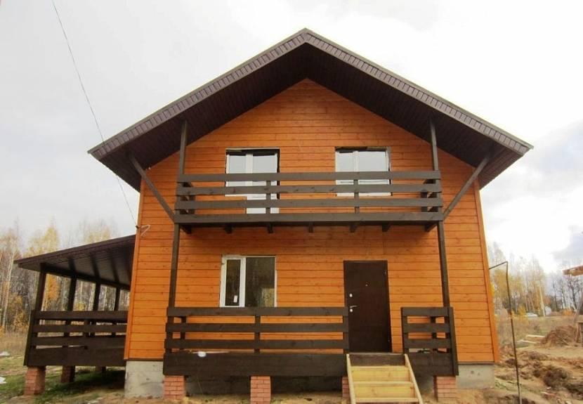 строительство балкона в деревянном доме на втором этаже частного дома