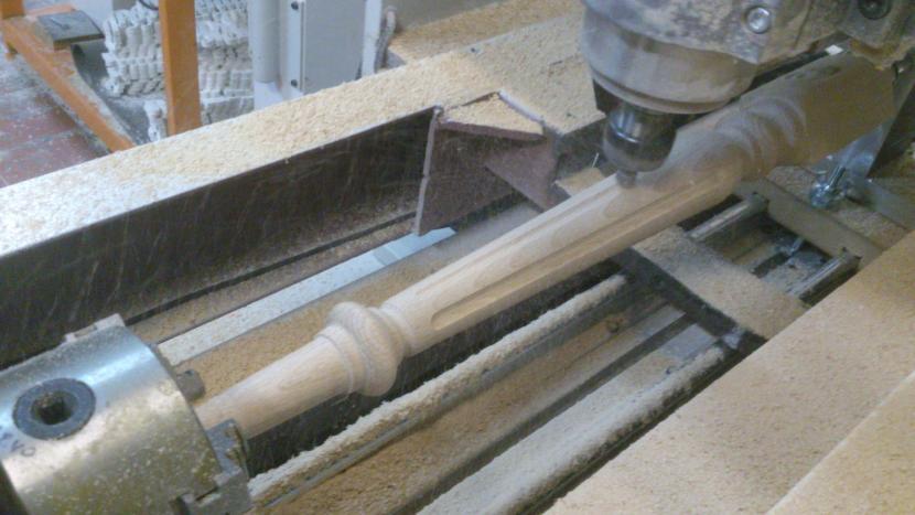 Изготовление балясин на токарном станке