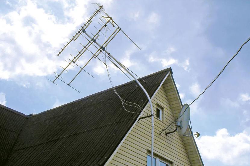 Большая дачная антенна