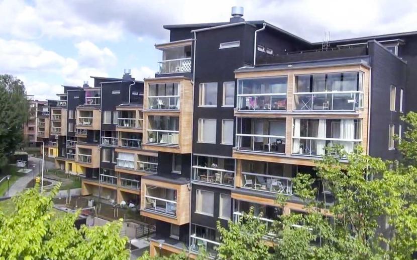 Многоквартирный деревянный дом теперь может быть не только в Финляндии