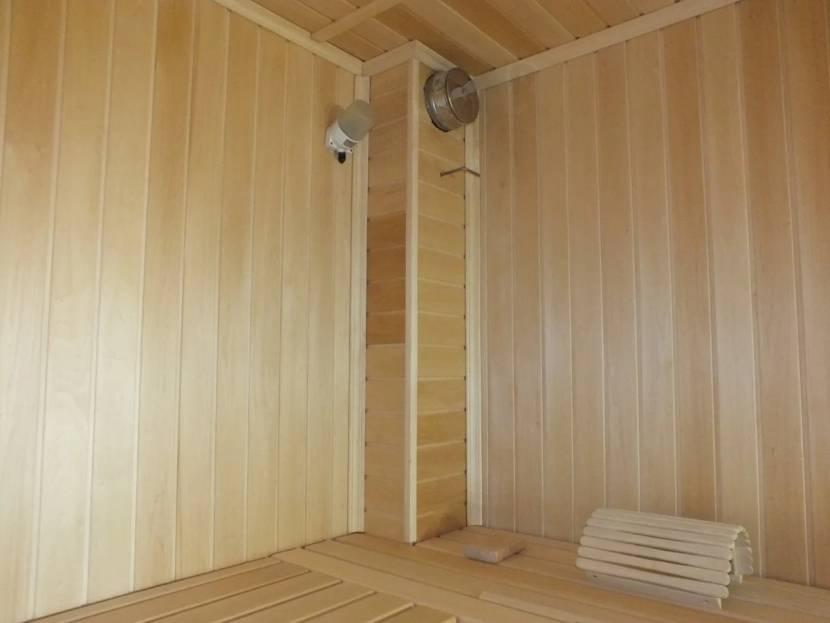 Вентиляция в рубленой бане