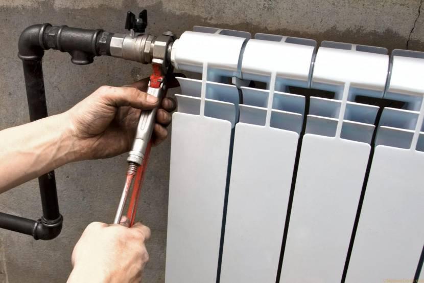 Замена уплотнителей в радиаторе