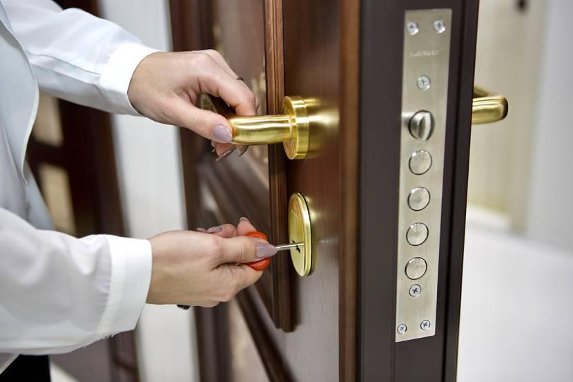 Металлическая дверь повышенной стойкости