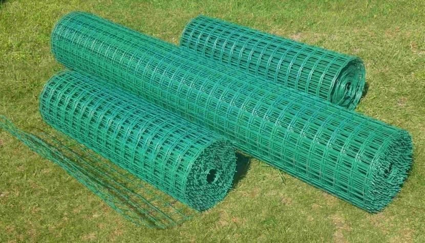 Пластифицированная сетка рабицы