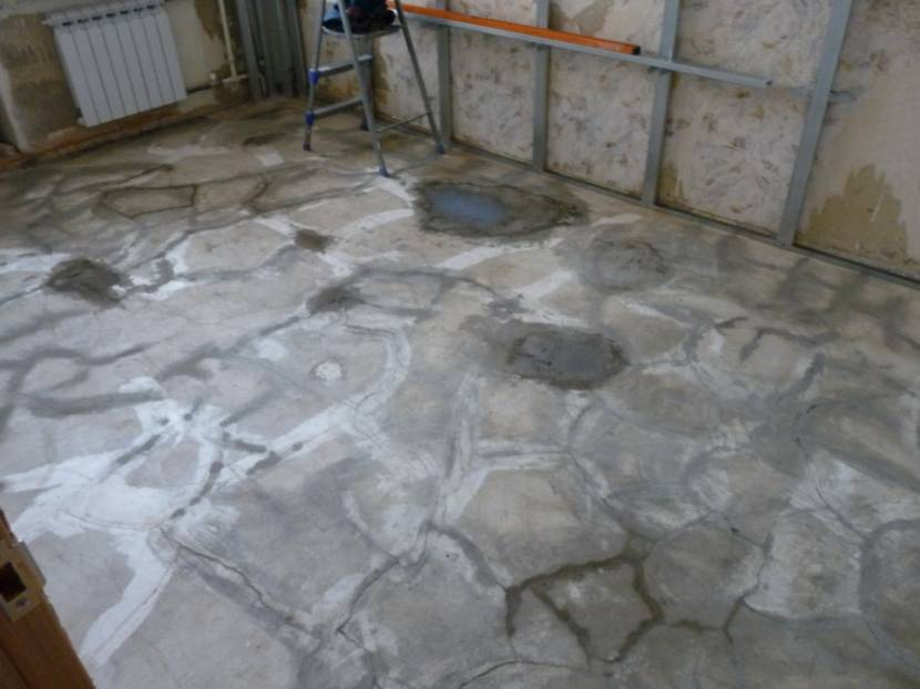 Ошибки при создании бетонной базы