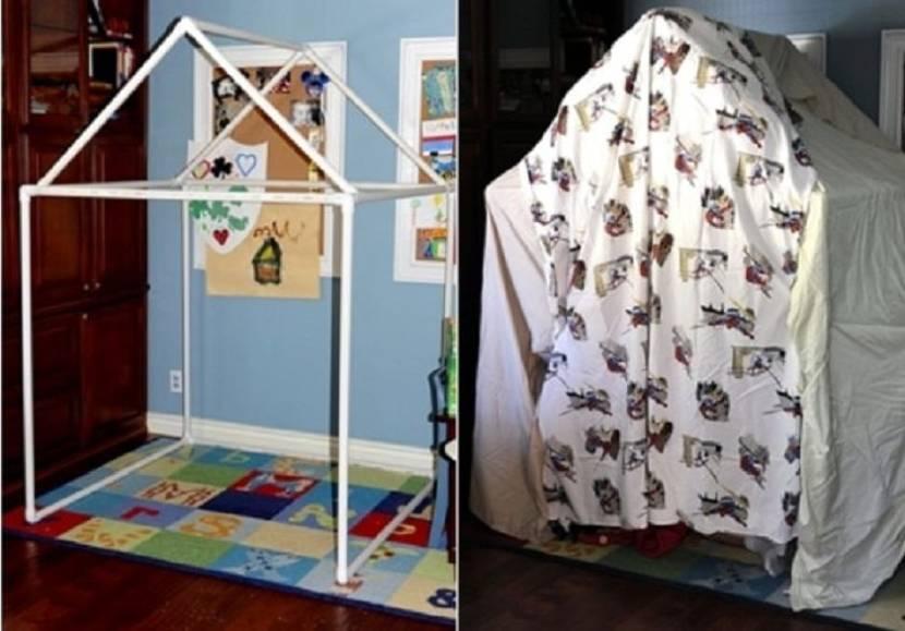 Простейший вариант детского домика