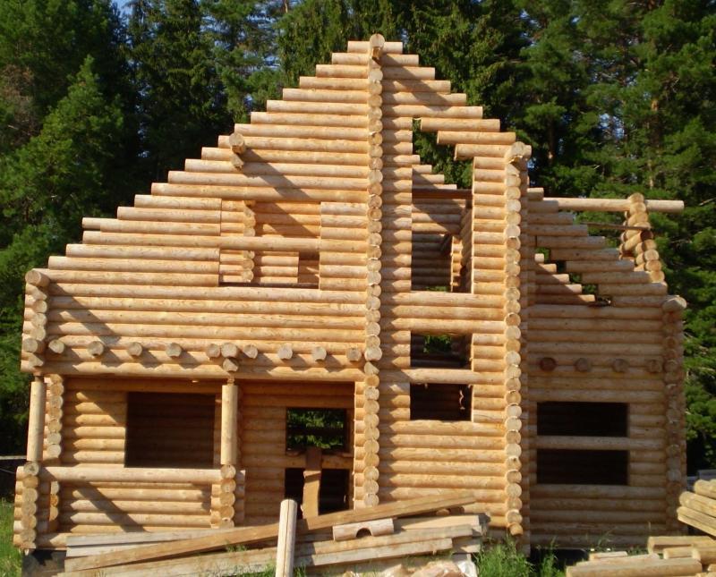 как правильно построить дом из сруба