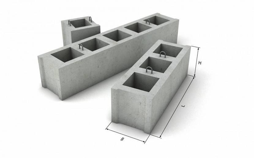 Фундаментные блоки пустотелые – ФБП