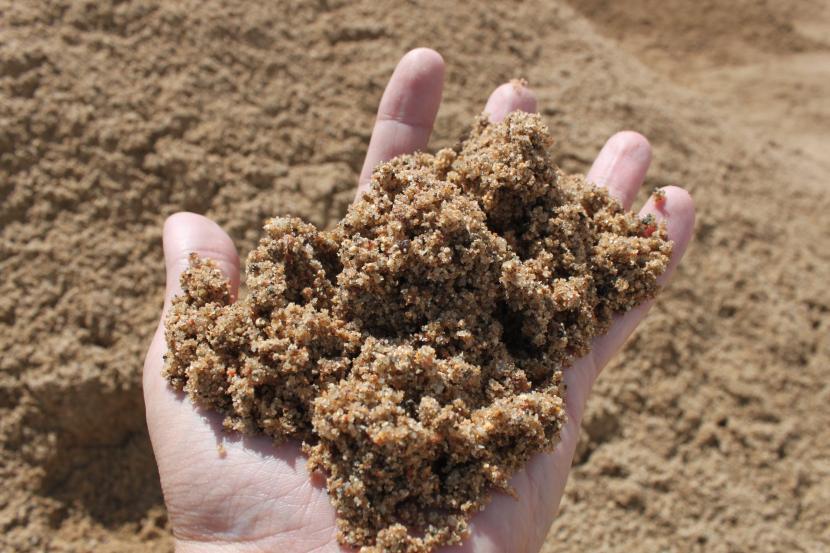 Влажность песка