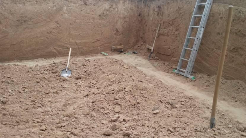 Необходимость в опалубке диктуется характеристиками грунта