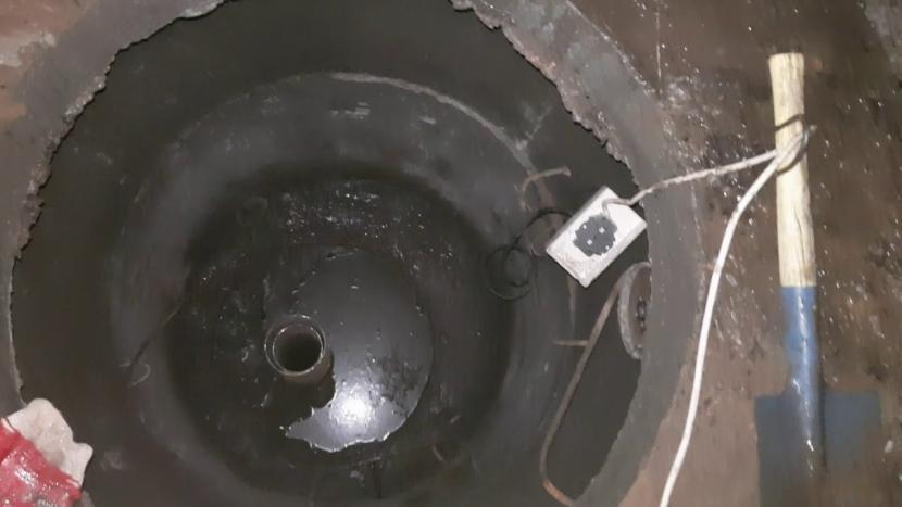 Внутренняя гидроизоляция железобетонного колодца-кессона
