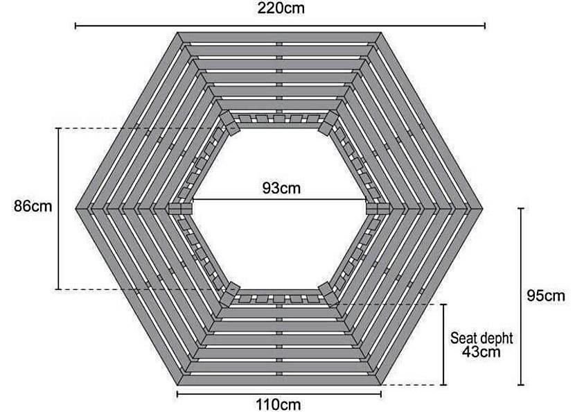 Для помостов сложной формы готовят чертеж в масштабе