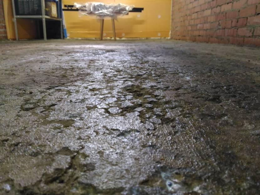 Результат использования бетона низкого качества
